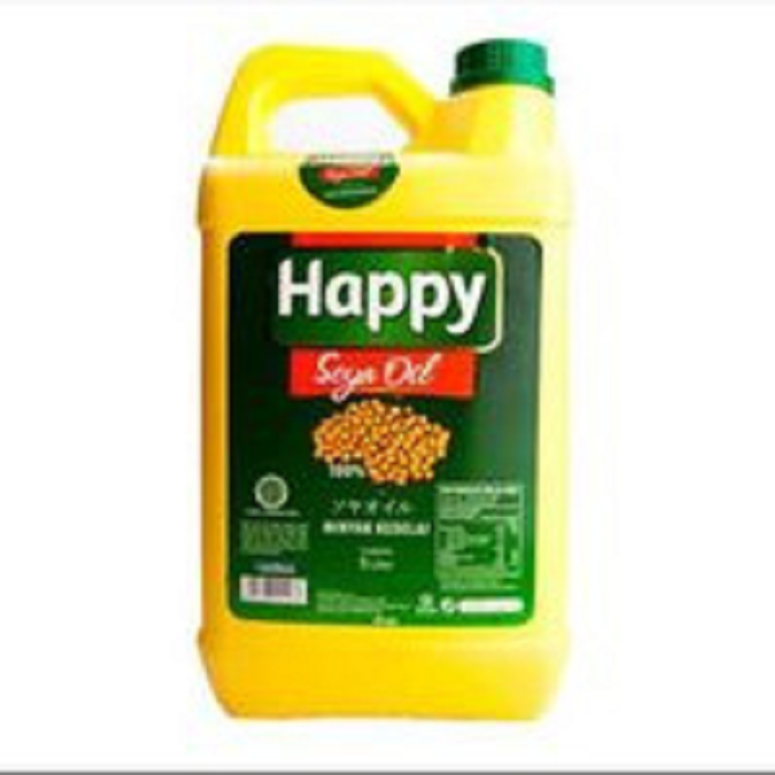 HAPPY SOYA OIL JRG 5L