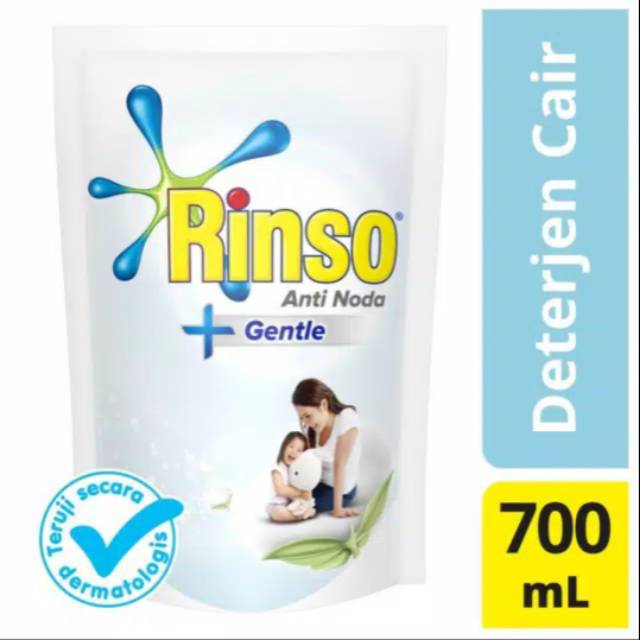 RINSO ANTI NODA + GENTLE LIQUID 700ML