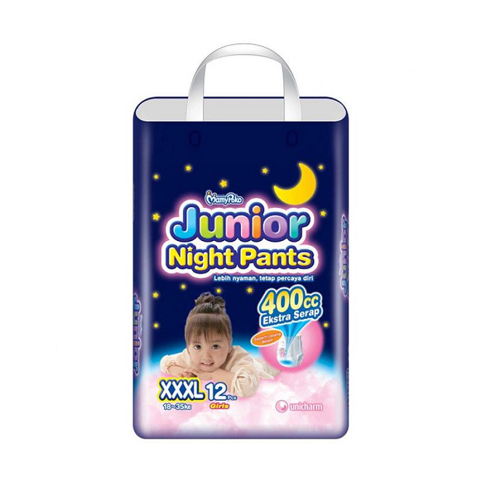 MAMYPOKO JUNIOR NIGHT PANTS GIRL XXXL ISI 12
