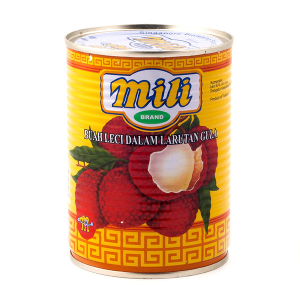 MILI LYCHEES IN HEAVY SYRUP 565G