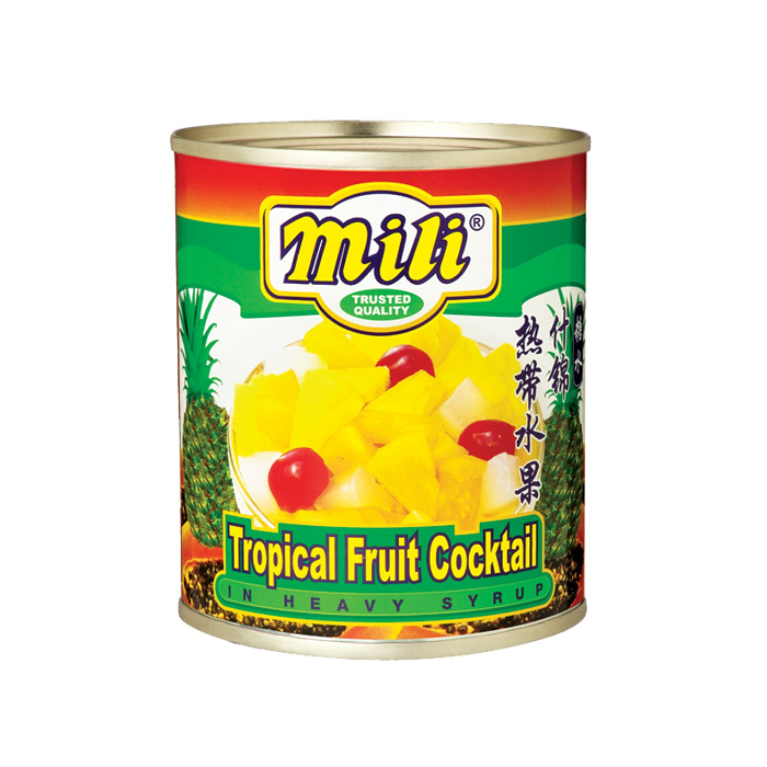 MILI TROPICAL FRUIT COCKTAIL 825G