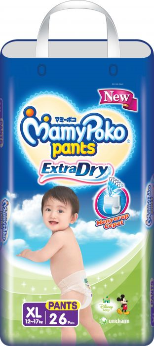 MAMYPOKO PANTS EXTRA DRY NEW SIZE XL ISI 26