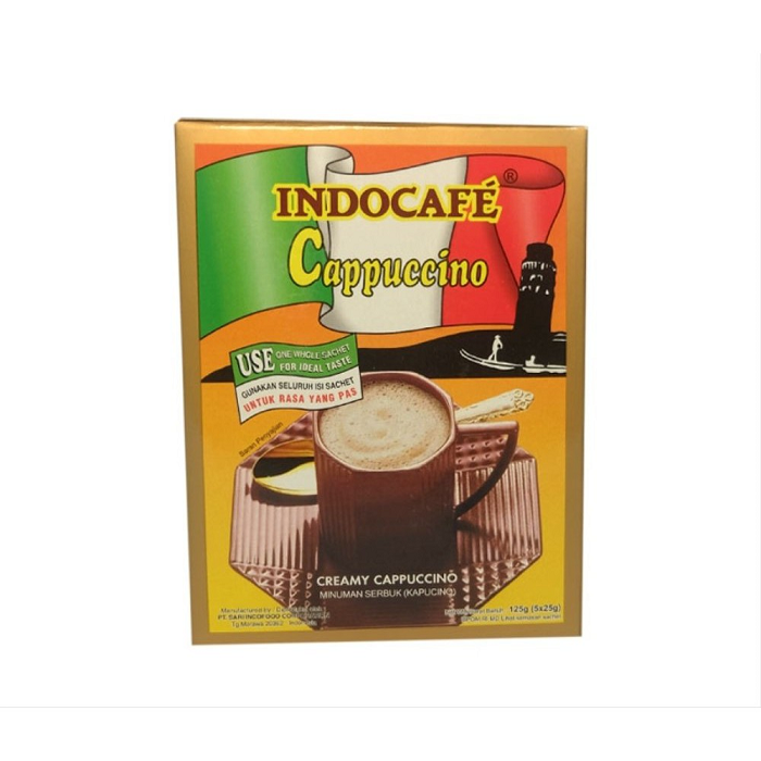 Indocafe Cappuccino ISI 5s x 25gr
