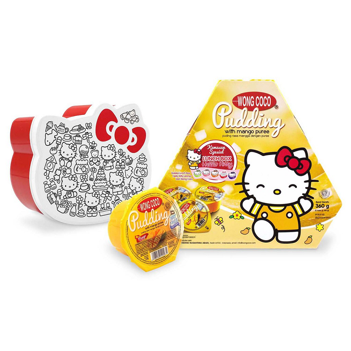 WONG COCO PUDING MANGO BANDED 3 HELLO KITTY