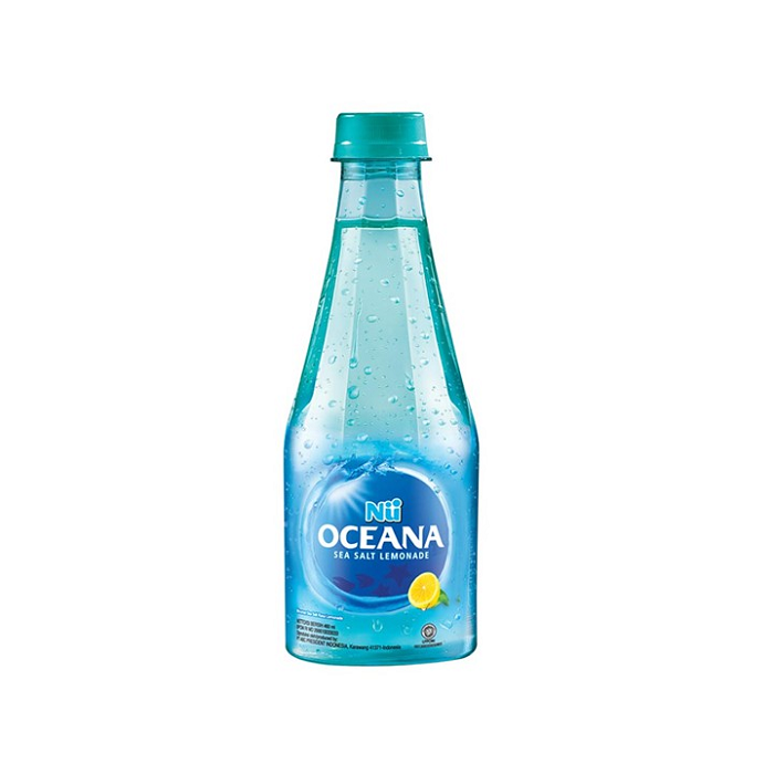 NU Oceana Sea Salt Lemonade Botol 460ml