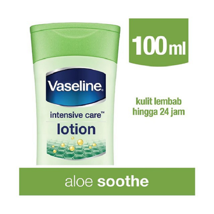 VASELINE LOTION Intensive Care Aloe Soothe 100ML