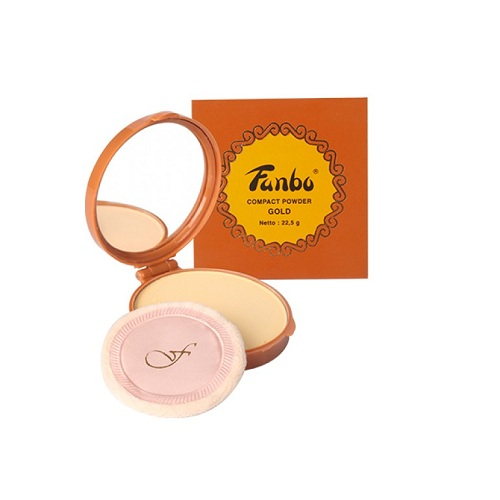 Fanbo Gold Compact Powder - A