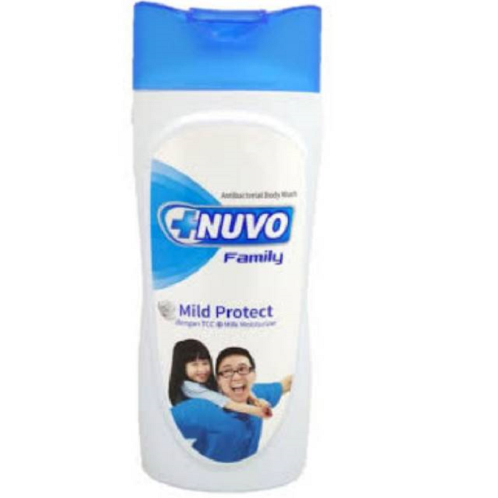 Nuvo Caring Blue Bottle Body Wash Mild Protect 250ml