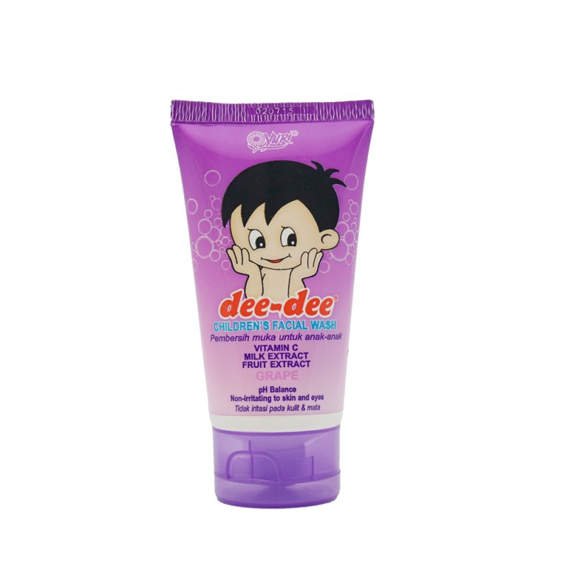 DEE DEE FACIAL WASH TUBE GRAPE 50G
