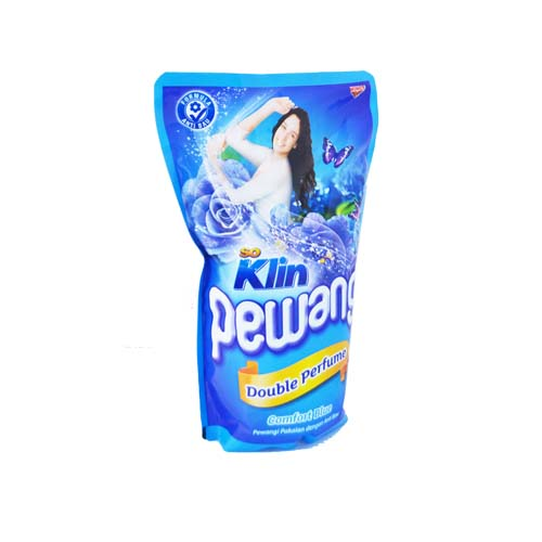 SO KLIN PEWANGI DOUBLE PERFUME COMFORT BLUE 900ml