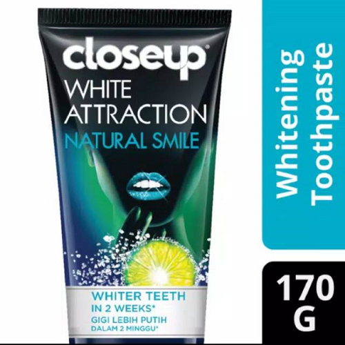 Close Up White Attraction Natural Glow 170gr
