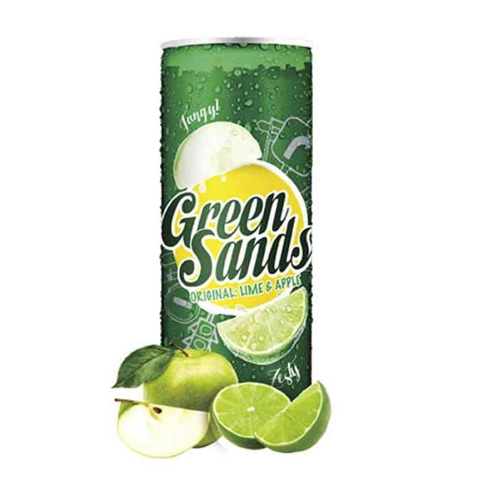 Green Sands Slim Original Apple and Lime 250ml