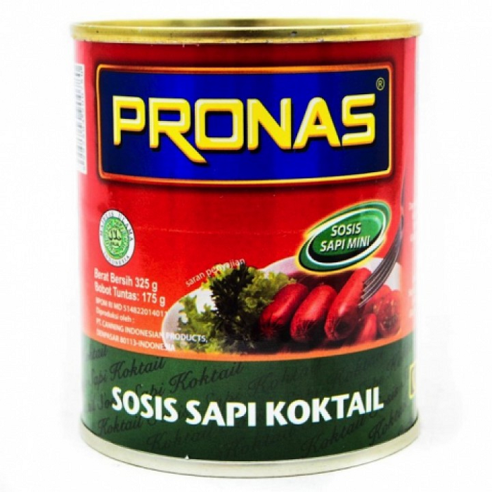 PRONAS SOSIS SAPI COCKTAIL 325gr
