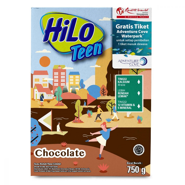 HILO TEEN CHOCOLATE 7500G