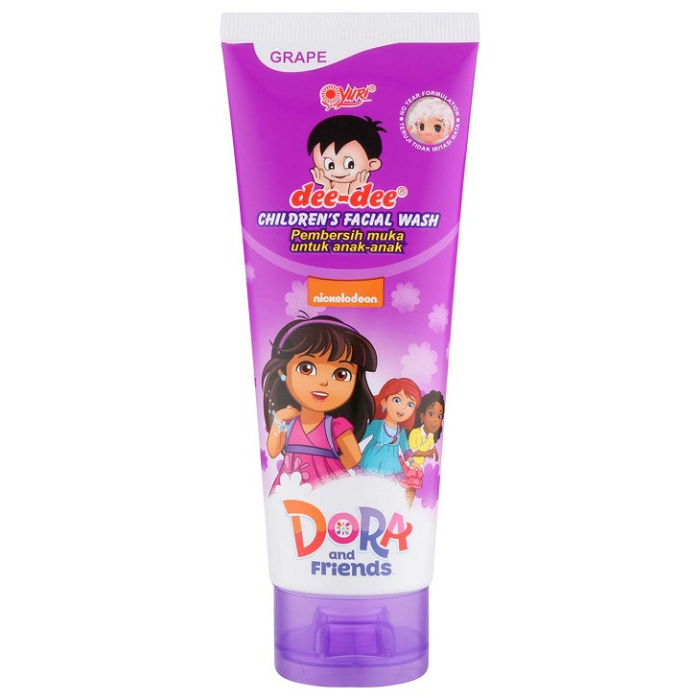 DEE DEE FACIAL WASH TUBE GRAPE 100GR