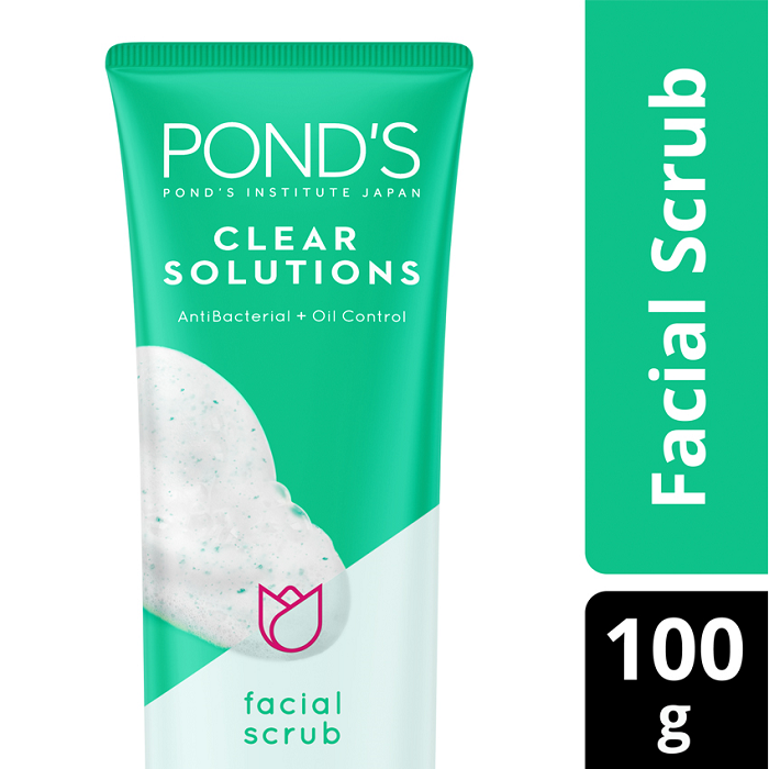 PONDS Clear Solution Facial Scrub 100GR
