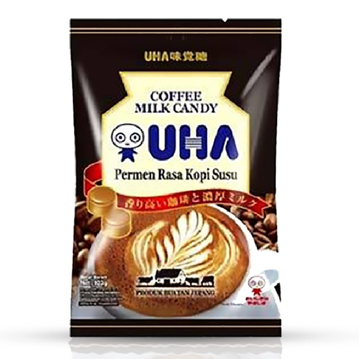 UHA CANDY COFFEE MILK CANDY 103gr