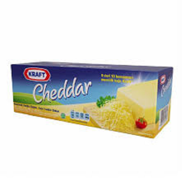 KRAFT PROCESSED CHEDDAR FRESH PACK 2KG