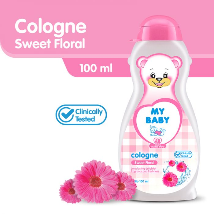 MY BABY COLOGNE SWEET FLORAL 100ML