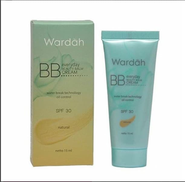 Wardah BB Cream Everyday Beauty Balm SPF 30 Atau Krim Muka BB 30ml - A