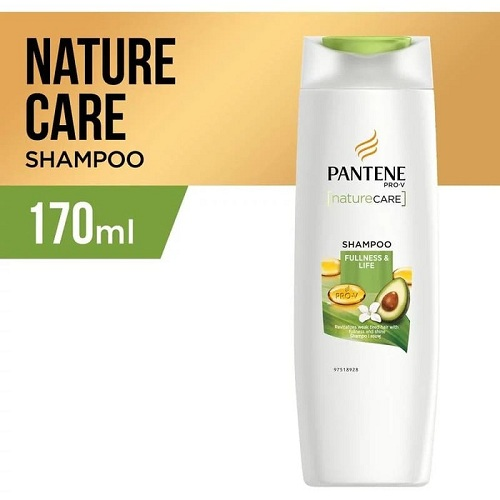 Pantene Shampoo Nature Care Fullness & Life 170ml