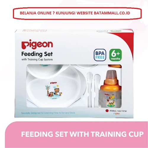 Pigeon Feeding Set with Training Cup System Kotak Besar 1600g