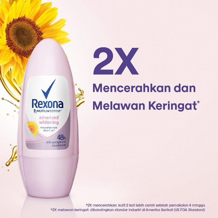 REXONA Women Roll On Advance Whitening RI 45ml