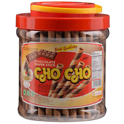 Cho Cho Wafer Stick Chocolate 500gr
