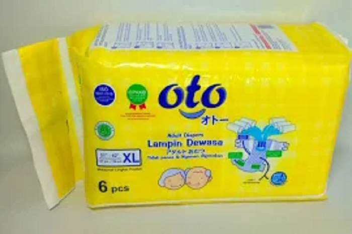 Oto Pampers Dewasa Adult Diapers Size XL Isi 6