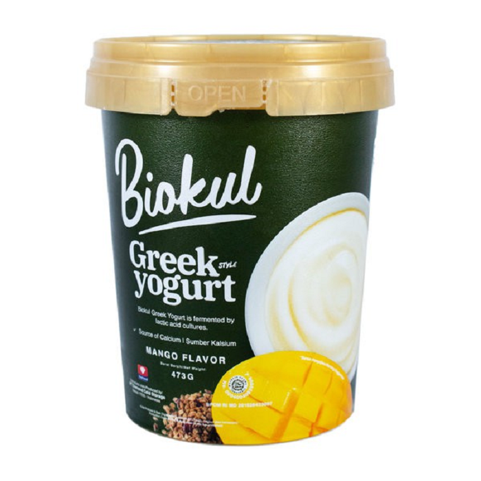 BIOKUL GREEK YOGURT MANGO 473GR