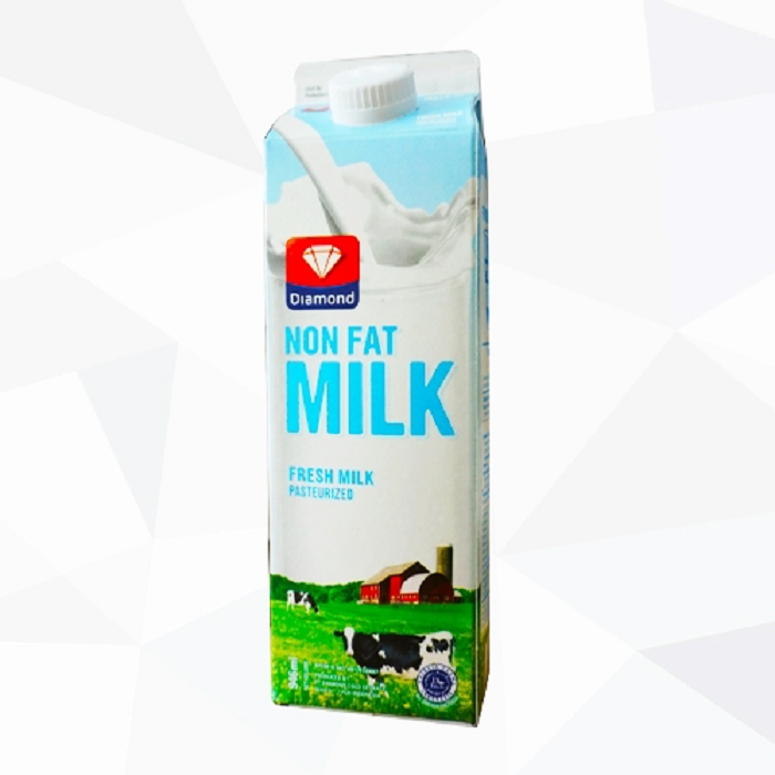 DIAMOND FRESH MILK NON FAT 946ML