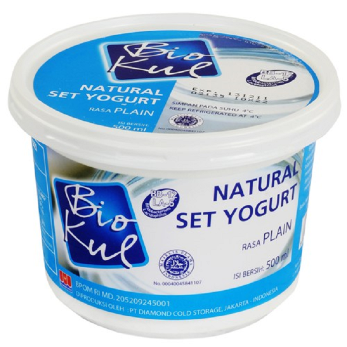 BIOKUL SET YOGURT PLAIN 500ML