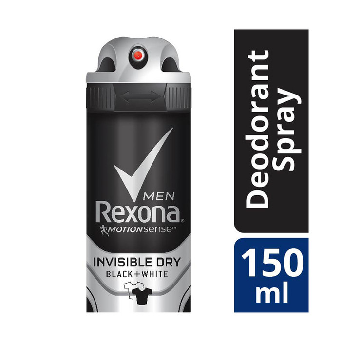 REXONA Men Anri Perspirant Deodorant SPRAY Invisible Dry 150ML