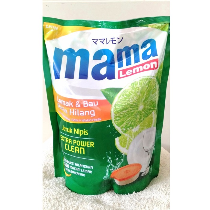 Mama Lemon Ekstrak Jeruk Nipis Pouch 1600 ml