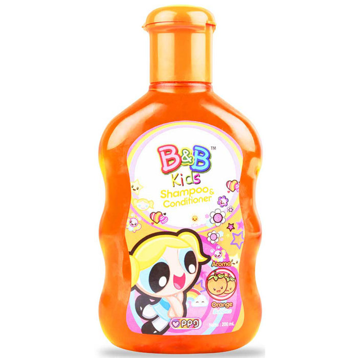 B&B KIDS Shampoo & Conditioner 200ML ORANGE