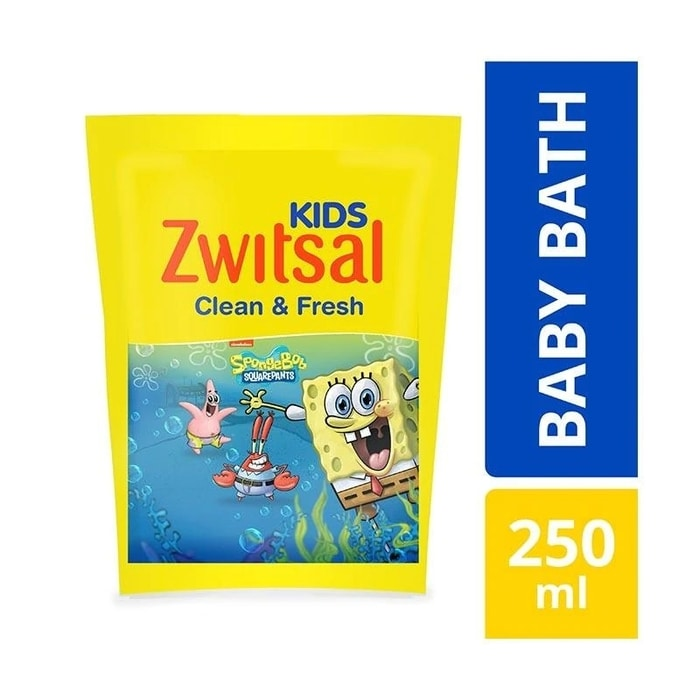 ZWITSAL KIDS BATH 250ml CLEAN FRESH