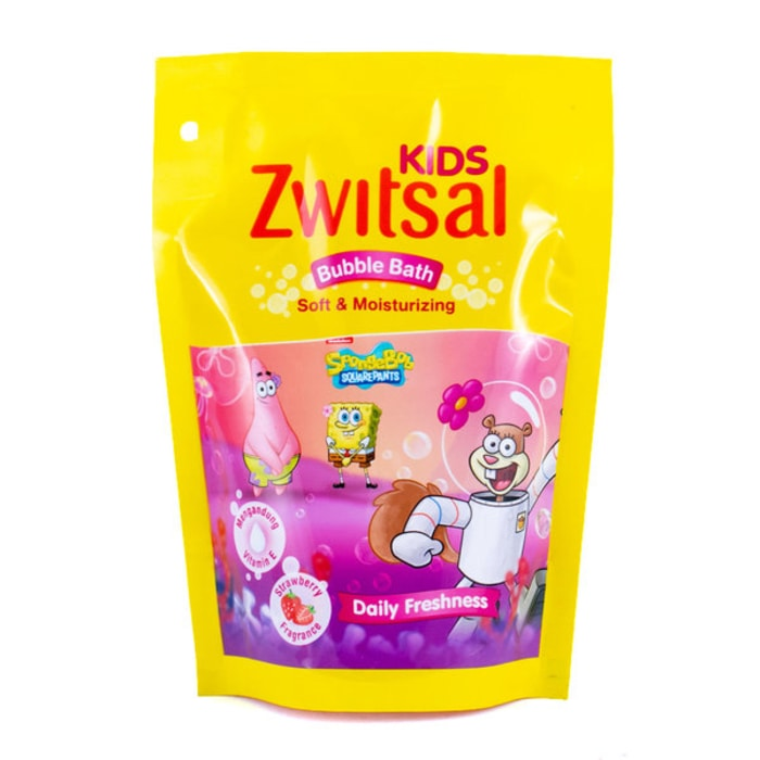 ZWITSAL KIDS BUBBLE BATH 250ml SOFT AND MOISTURIZING