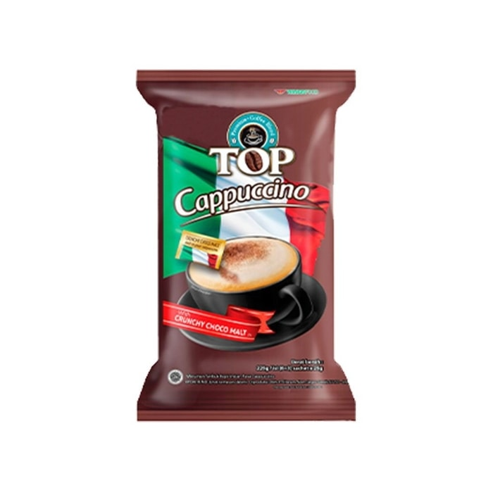 TOP COFFEE (6X25g) CAPPUCINO