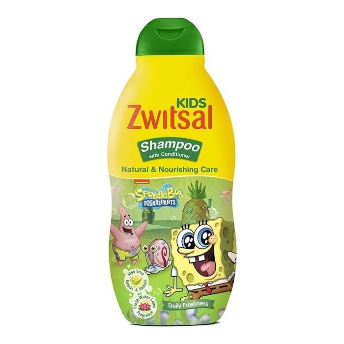 Zwitsal Kids natural and nourishing Shampoo with Conditioner 180 mL