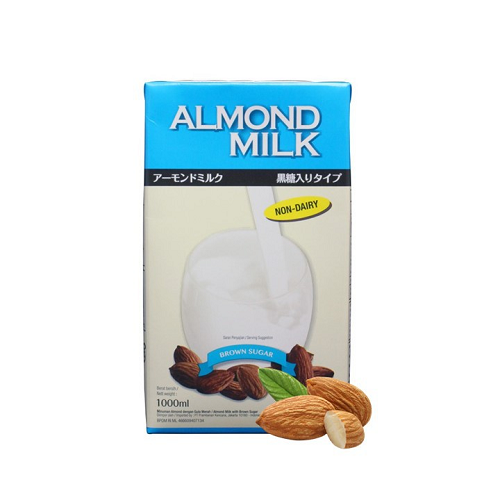 Tsukuba Almond MIlk with Brown Sugar 1 liter