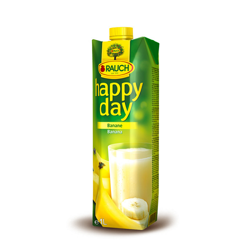 Rauch Happy Day Fruit Juice BANANA 1 liter