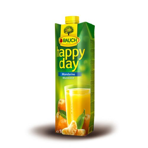 Rauch Happy Day Fruit Juice ORANGE 1 Liter